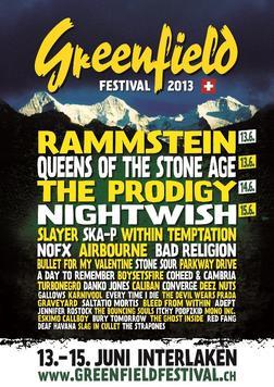 Greenfield Festival 2013